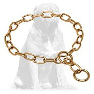Mastiff Curogan Fur Saver Choke Collar 1/9 inch (3 mm)