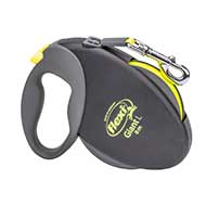 Mastiff Retractable Nylon Leash with 2 Modes of Braking System for Small & Medium Size Dogs