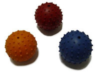 Rubber Squeaky Ball Dog Toy 2 3/8''(6cm)-Mastiff Dog Toys