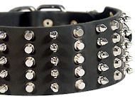 3 inch Spiked and Studded Mastiff collar