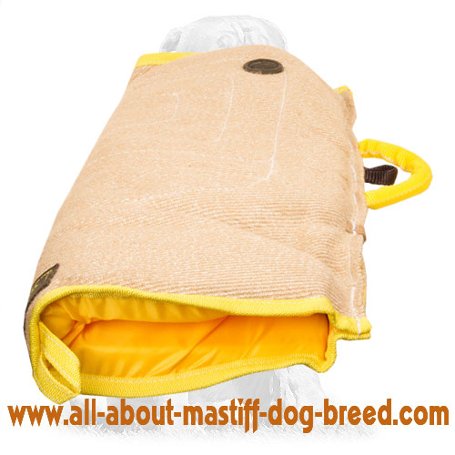 Reliable Jute bite sleeve for your puppy