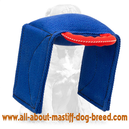 Reliable bite dog pad