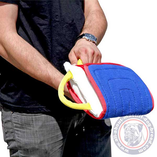 Reliable dog pad supplied with 3 handles