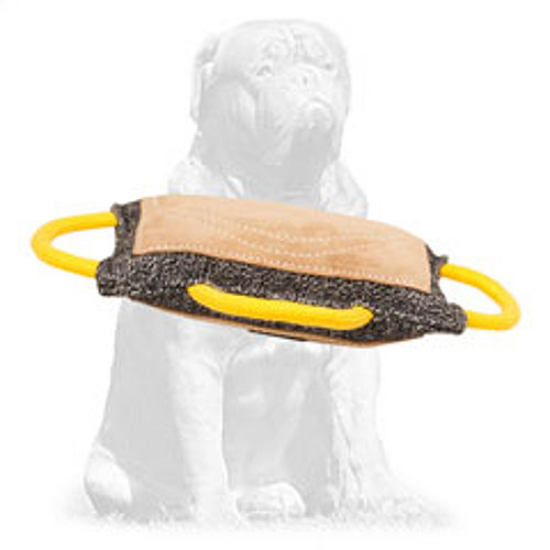 Durable French Linen dog pad for training
