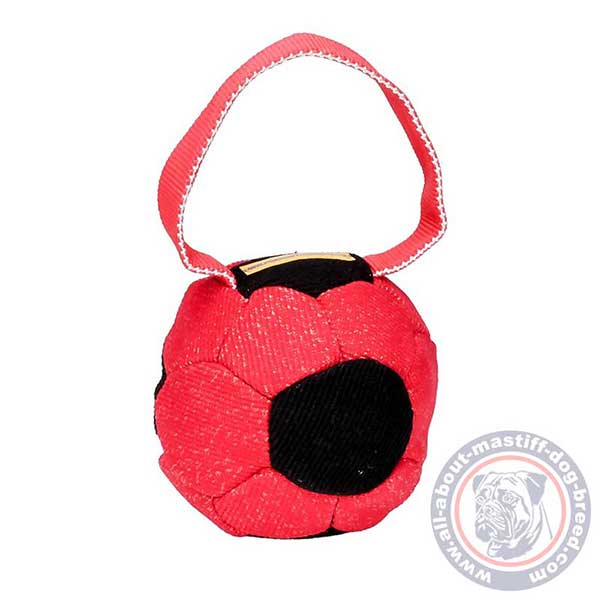 Durable French Linen dog ball
