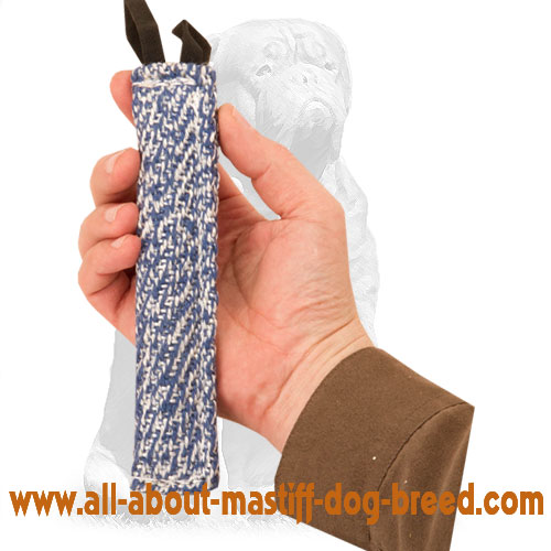 Reliable French Linen puppy toy for bite training