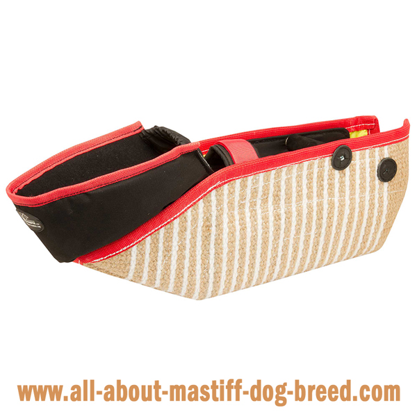 Professional Jute Bite Sleeve for Mastiff