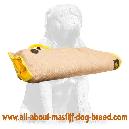 Tear-proof dog sleeve made of natural jute