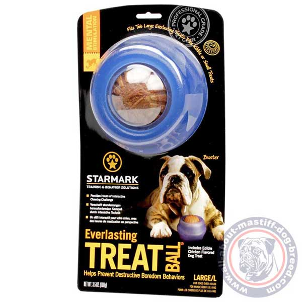 Rolling treat dispenser silent