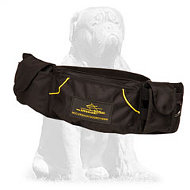 Mastiff Training Dog Pouch for Carrying Toys and Treats