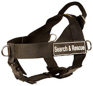 SAR Harness for Mastiff-Search&Rescue NYLON DOG HARNESS