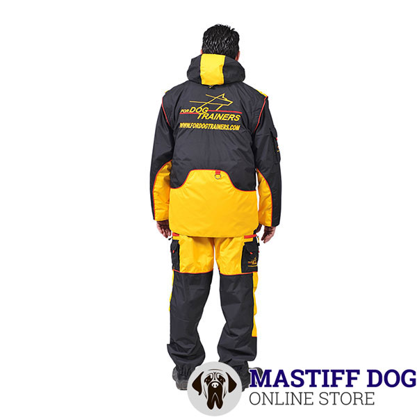 Dog Training Suit with Pockets to Keep Equipment and Treats