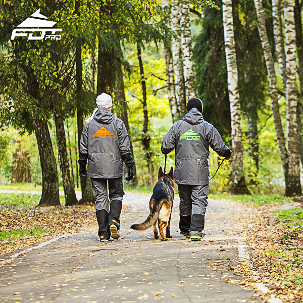FDT Pro Dog Training Jacket of High Quality for Everyday Activities