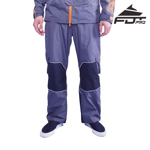 FDT Pro Pants of Grey Color for Cold Seasons