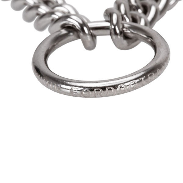 Durable stainless steel O-ring on pinch collar