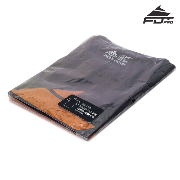 Prepacked Professional T-shirt Dark Grey Color