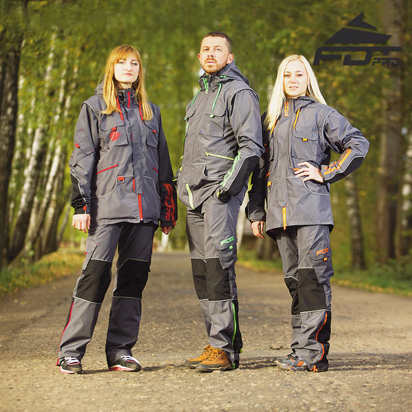 Top Notch Dog Training Suit for Any Weather Use