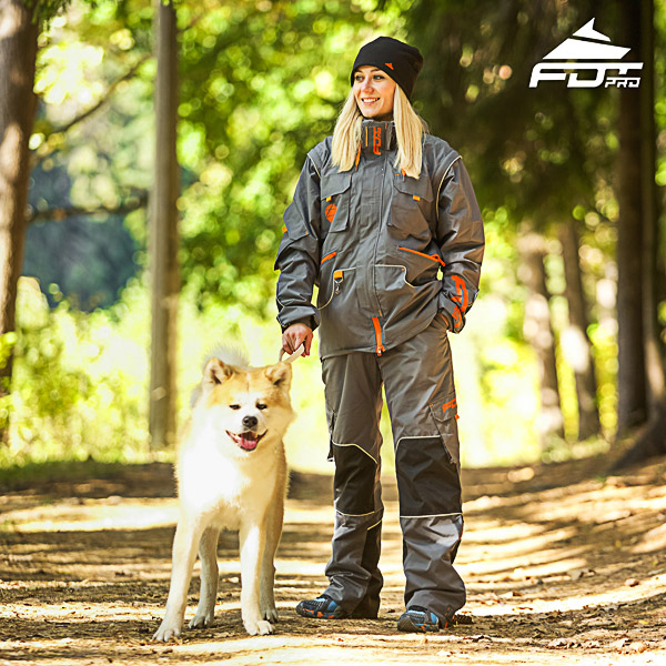 Unisex Design Dog Tracking Jacket of Quality Materials