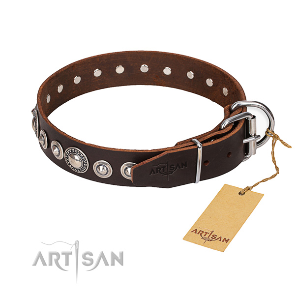 Multifunctional leather collar for your favourite dog