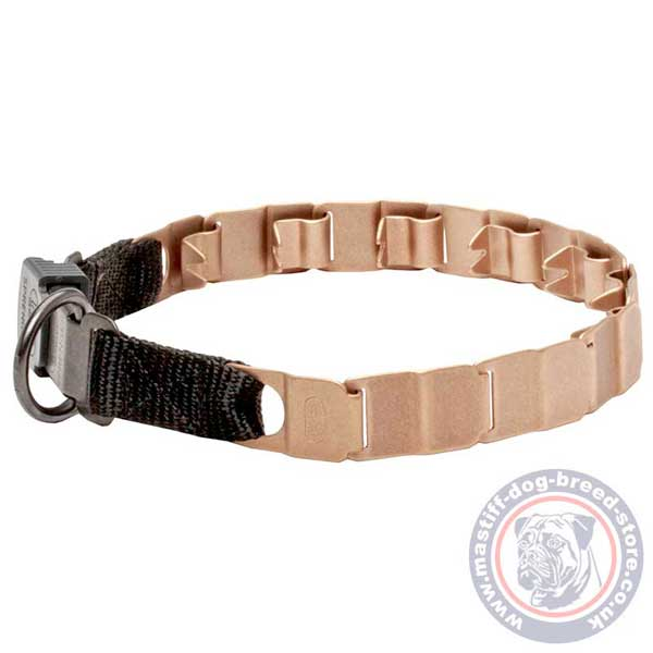 Durable neck tech non-rusting dog collar