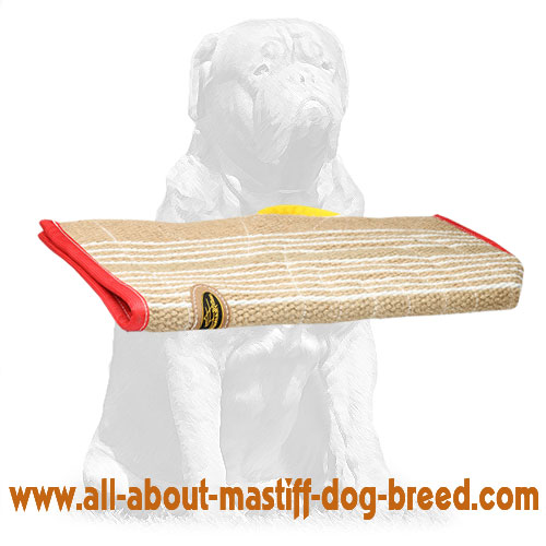 Durable jute sleeve dog cover