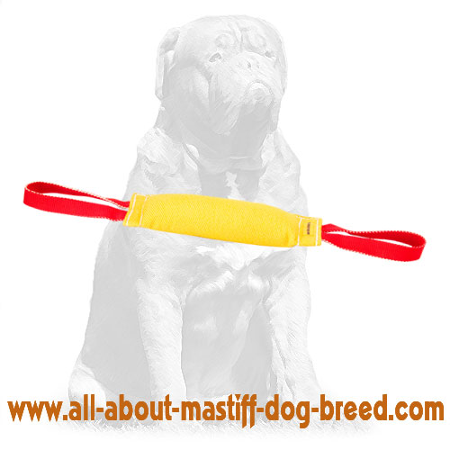 Eco-friendly French Linen puppy tug for bite training