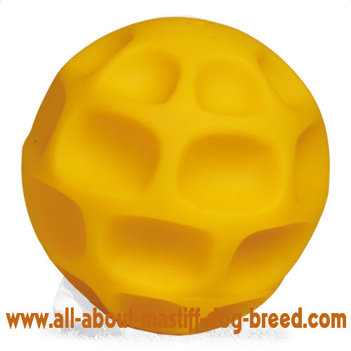 Mastiff Treat Dispenser - Tetraflex Ball of Large Size 5 inch (13cm)