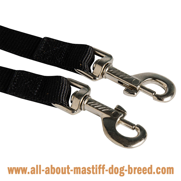 Stitched Mastiff leash
