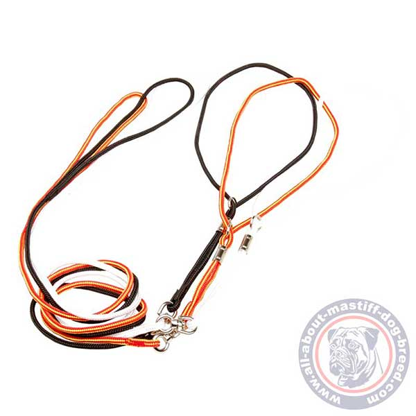 Nylon show dog lead